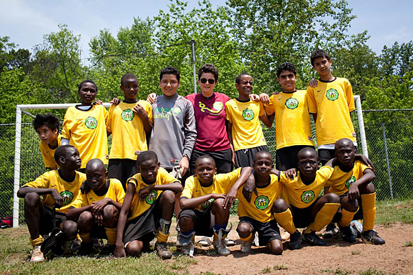 outcast united Outcasts united is the story of this town, told through the lens of a soccer team of  refugee boys called the fugees, a team founded and coached.